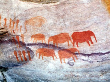 Петролгифы Sevilla — Bushmans Kloof Rock Art