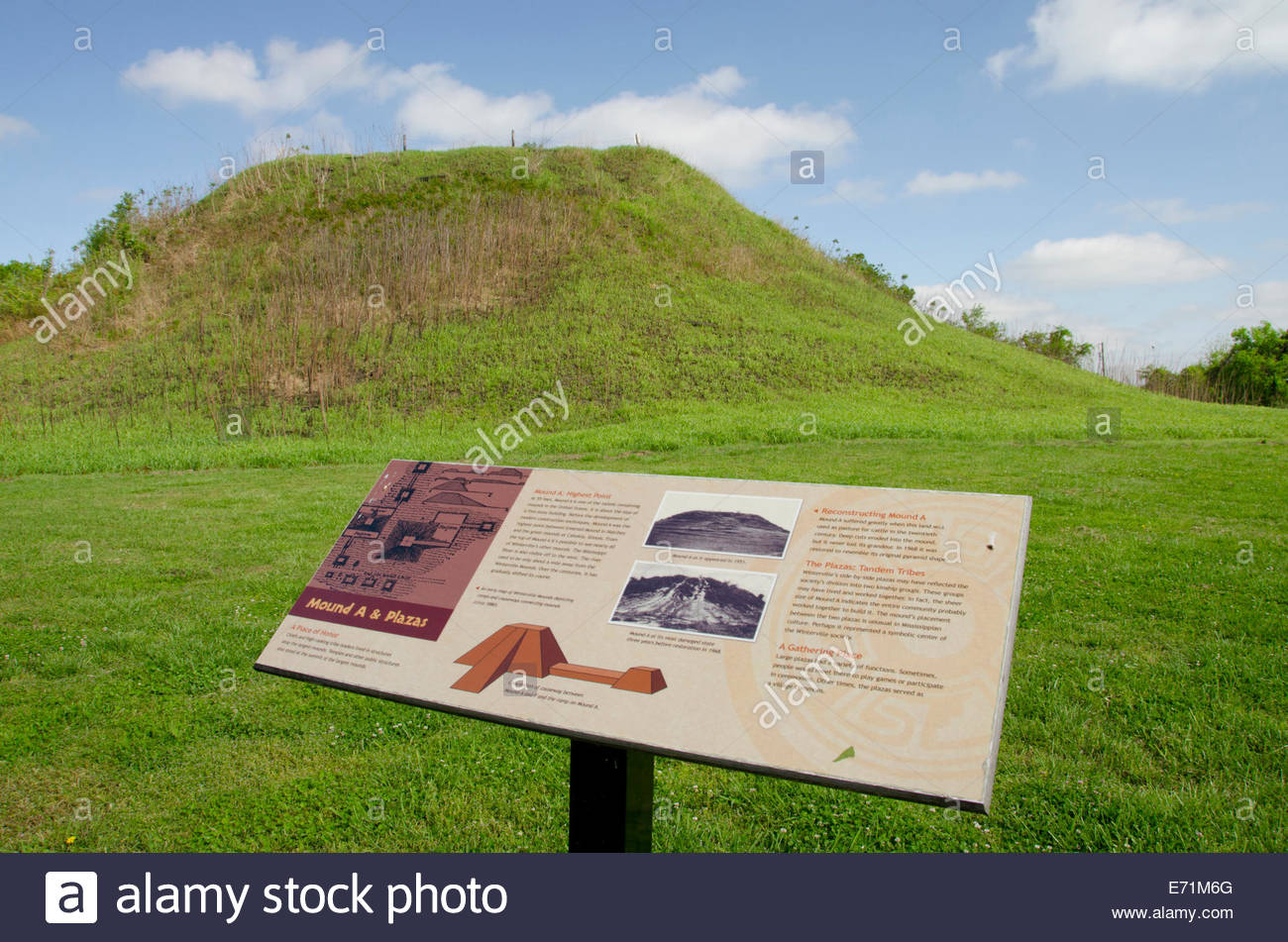 usa-mississippi-greenville-winterville-mounds-a-native-american-mound-E71M6G