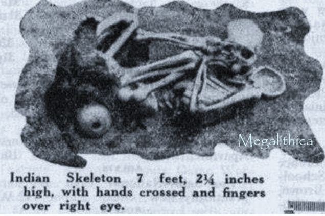 Ancient Giant Human Skeletons Found in California's Channel Islands.