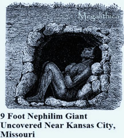 9 Foot Nephilim Sun Worshipper Uncovered South of Kansas City, Missouri-gravel-pit-human-skeleton.