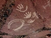 Dashti Eymatk petroglyphs is located 10 kilometers west village of Urmetan,  Urmetan  Aininsky district of the Sogd region. Located on the right bank of the Zarafshan River Tajikiston
